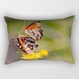 Butterfly Acrobats Rectangular Pillow