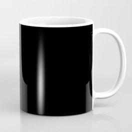 All Black Coffee Mug