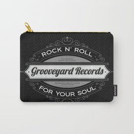 Grooveyard Records Retro Logo Carry-All Pouch