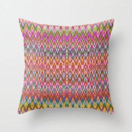 Missoni Style Throw Pillow