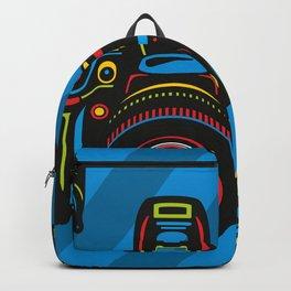 Black Camera Backpack