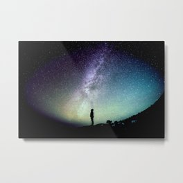 Deep Thoughts Of the Universe Metal Print
