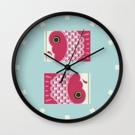 Koinobori | Pink Wall Clock