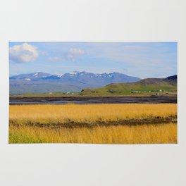 Icelandic fields Rug