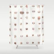 boobs Shower Curtain