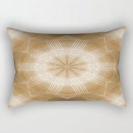 Astra Aliena (gold) Rectangular Pillow