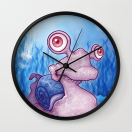 Slugly Wall Clock