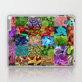 Bacteria Montage Laptop & iPad Skin