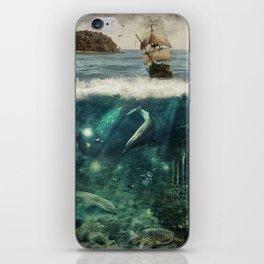 WATER WORLD iPhone Skin