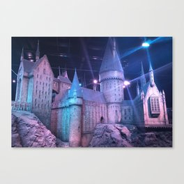 Hogwarts Model Canvas Print