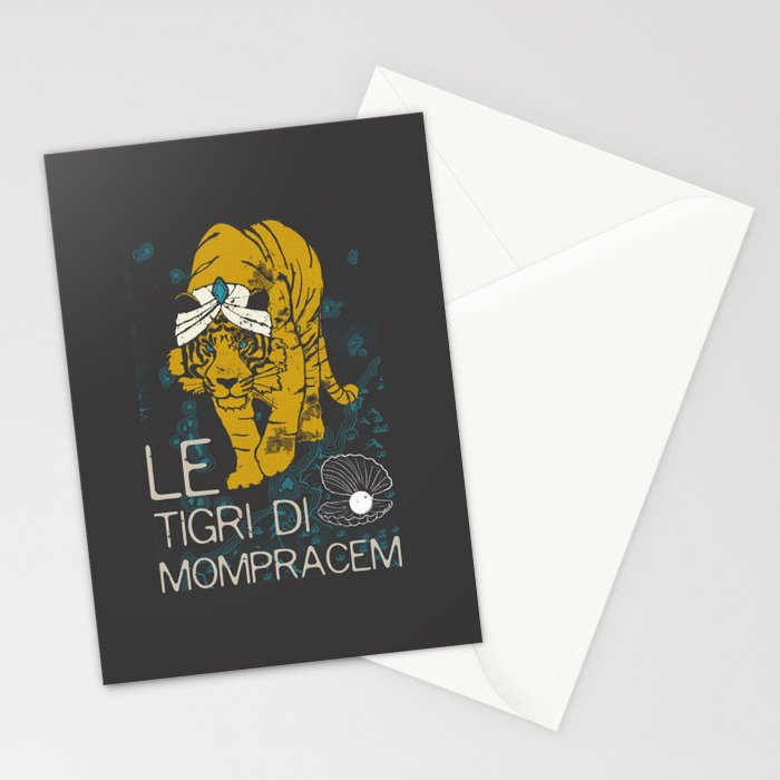 Books Collection: Sandokan, The Tigers of Mompracem Stationery Cards