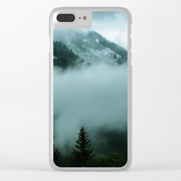 breathe me in Clear iPhone Case