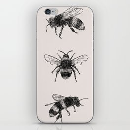 Three Bees iPhone Skin