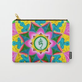 Mandala of Green Tara Carry-All Pouch