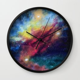 Cosmic Connection Wall Clock