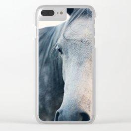 Close Up Clear iPhone Case