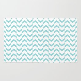 Limpet shell chevron  Rug