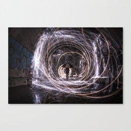 Time Warp Tunnel Canvas Print