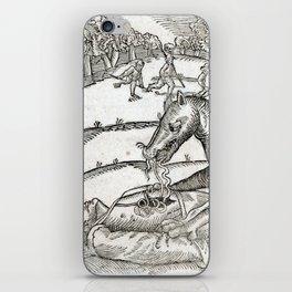 Beast of Cinglais 1632 iPhone Skin