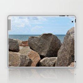 Heart-Shaped Rock Laptop & iPad Skin