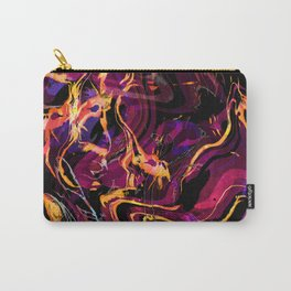 Fluid Abstract 40; Emotional Outburst Carry-All Pouch