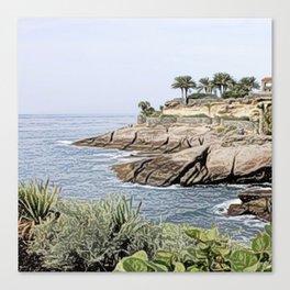 Tenerife/Teneriffa,painted Canvas Print