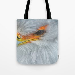 Feathers and eyelashes Tote Bag