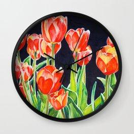 Tulip Translucence Wall Clock