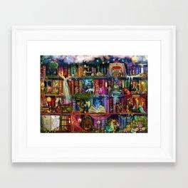Whimsy Trove - Treasure Hunt Framed Art Print