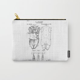 patent art Spalding Flying Machine  1889 Carry-All Pouch