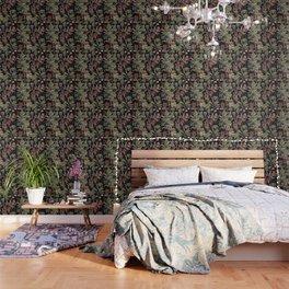 Dark Botanicals (pillow variant) Wallpaper