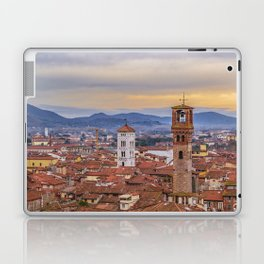 Aerial View Historic Center of Lucca, Italy Laptop & iPad Skin