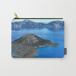 Brilliant Crater Lake Carry-All Pouch