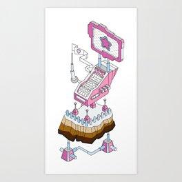ornament_factory_2 Art Print