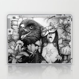 Moi Moi and the Hawk Laptop & iPad Skin