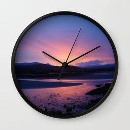 Errigal Sunset Wall Clock
