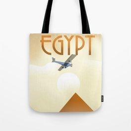 Egypt Travel poster Tote Bag