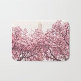 New York City - Central Park - Cherry Blossoms Bath Mat