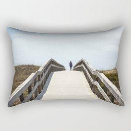 Ocracoke Pony Pen Boardwalk 2018 Rectangular Pillow