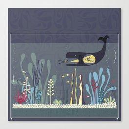 The Fishtank Canvas Print