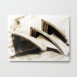 Sydney Opera House  Collection IV Metal Print