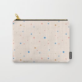 terrazzo style pastel dots Carry-All Pouch