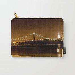 Lisbon bridge light Carry-All Pouch