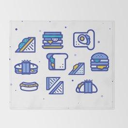 Sandwiches Throw Blanket