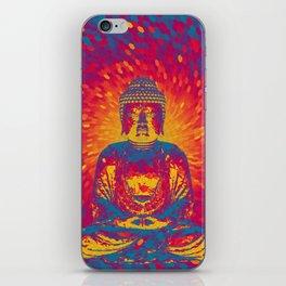 Crystal Buddha iPhone Skin
