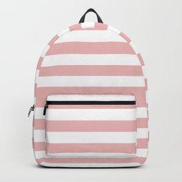 Blush & White Stripes Backpack