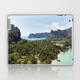 Railay Bay - Rai Leh Beach, Krabi Thailand  -  Tropical Paradise Laptop & iPad Skin