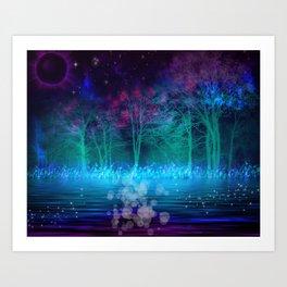 """Mystical Night"" Art Print"