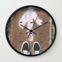 Van Forward Wall Clock
