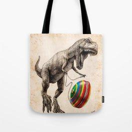Jurassic yoyo Tote Bag